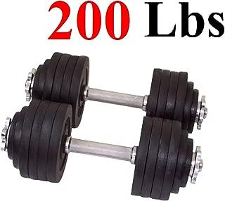 One Pair of Adjustable Dumbbells Kits-200lbs(2x100lbs)