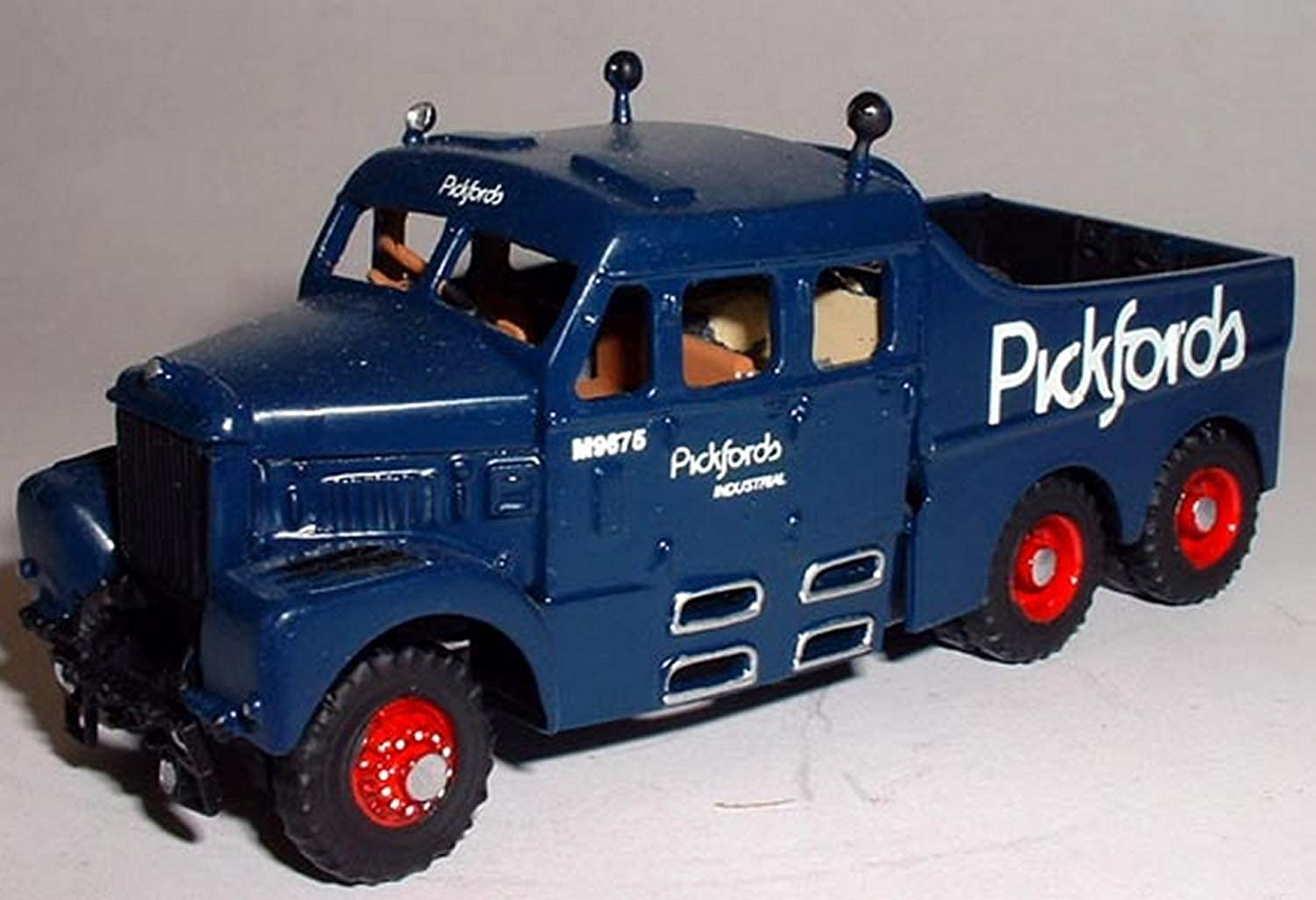 Langley Models Scammell Constructor + crew cab 6x6 '58 OO Scale UNPAINTED Kit G128