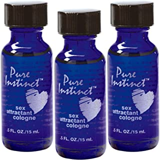 3 Pure Instinct Pheromone Attractant Hormone Cologne Perfume Attract Opposit Sex