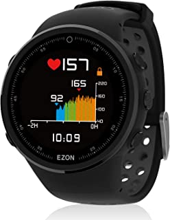 EZON T958 GPS Running Sport Smart Bluetooth Watch Compatible with Philips Heart Rate Monitor