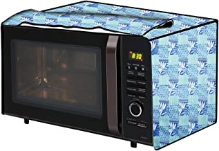 The Furnishing Tree Microwave Oven Cover for Samsung 21 L Convection CE76JD-B/XTL Surface Pattern Blue