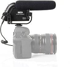 Camera Shotgun Mic, BOYA BY-VM190 Video Condenser Super-cardioid Shotgun HD Prosumer Interview Microphone On-Camera Recording for Canon EOS Nikon Sony Pentax DSLR Cameras Facebook Livestream Vlog