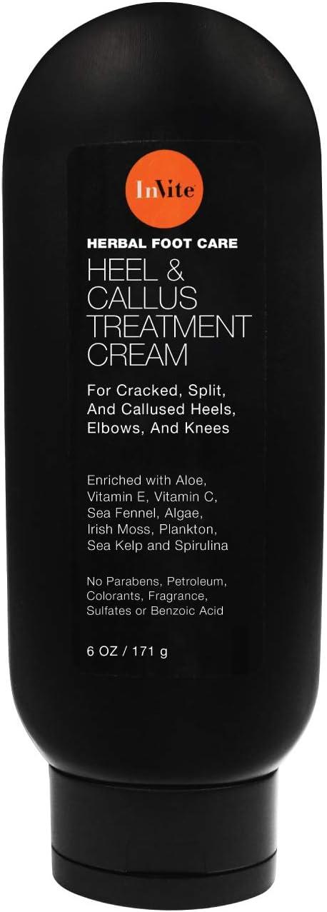 InVite Health Heel Callus Cream and Max 44% OFF Cracked for Trust Split
