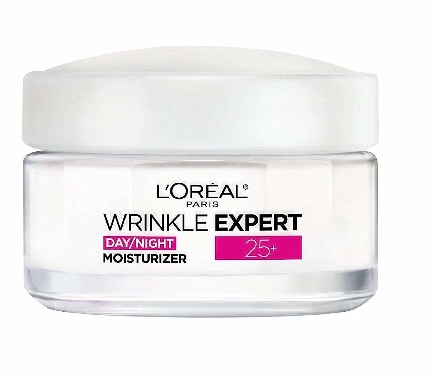 メトロポリタンせせらぎ少なくともロレアル Wrinkle Expert 25+ Day/Night Moisturizer 50ml/1.7oz並行輸入品