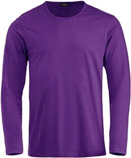 Men's Casual Henley Shirts Long Sleeve Slim Fit Basic Cotton Shirt Tee Top
