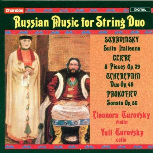 Russische Musik für Streichduo