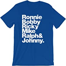 Wet Nose Studio New Edition Ronnie, Bobby, Ricky, Mike, Ralph, and Johnny Unisex Short Sleeve T-Shirt