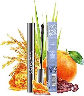 DIZAO ORGANICS - 95% Organic 100% Natural Moisturizing Black Mascara with Organic Extract of Rice Brans and...