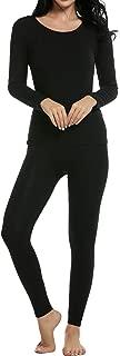 Thermal Underwear Women's Soft Long John Winter Base Layer Slimming Sleepwear PJs Set S-XXL