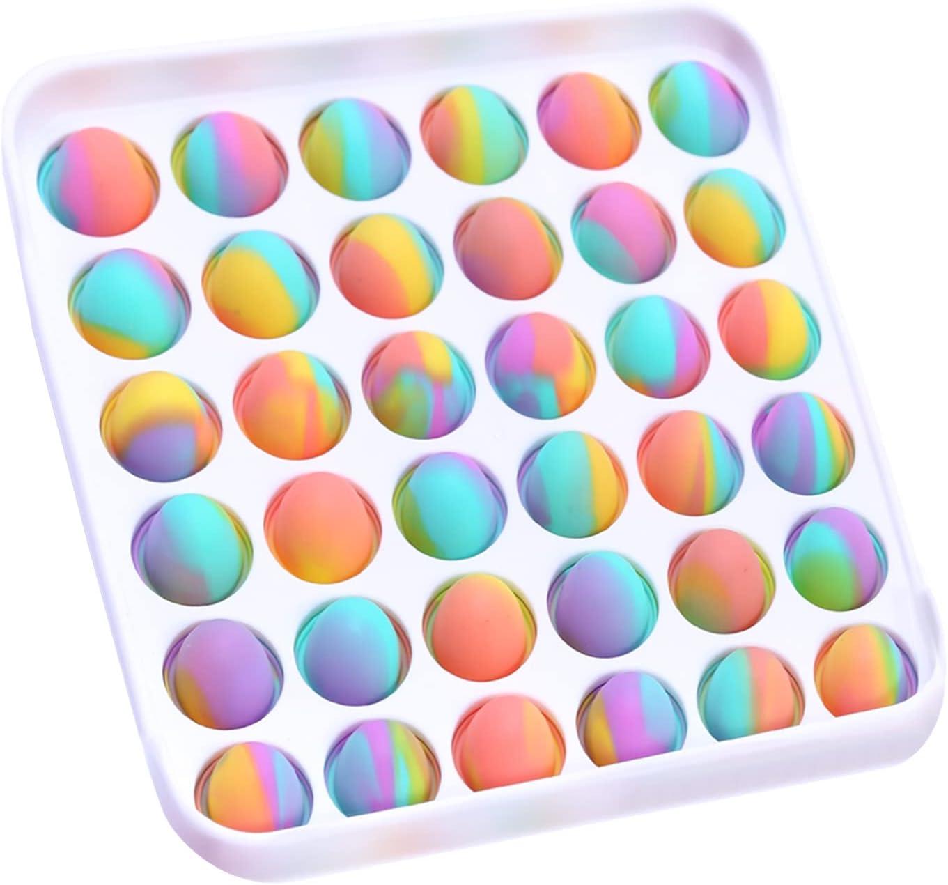 Aneboom PushPop Bubble Fidget Sensory Toy,FidgetToys