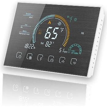 BecaSmart Serie 8000 Termostato con pantalla táctil