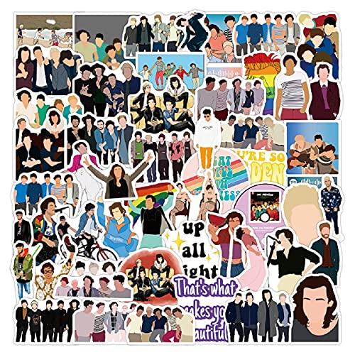50 Piezas One Direction Pegatinas para Niños, Niñas, Adolescentes, Coloridas Pegatinas Impermeables para Matraces, Portátiles, Teléfonos, Botellas de Agua, Bonitos Estéticos