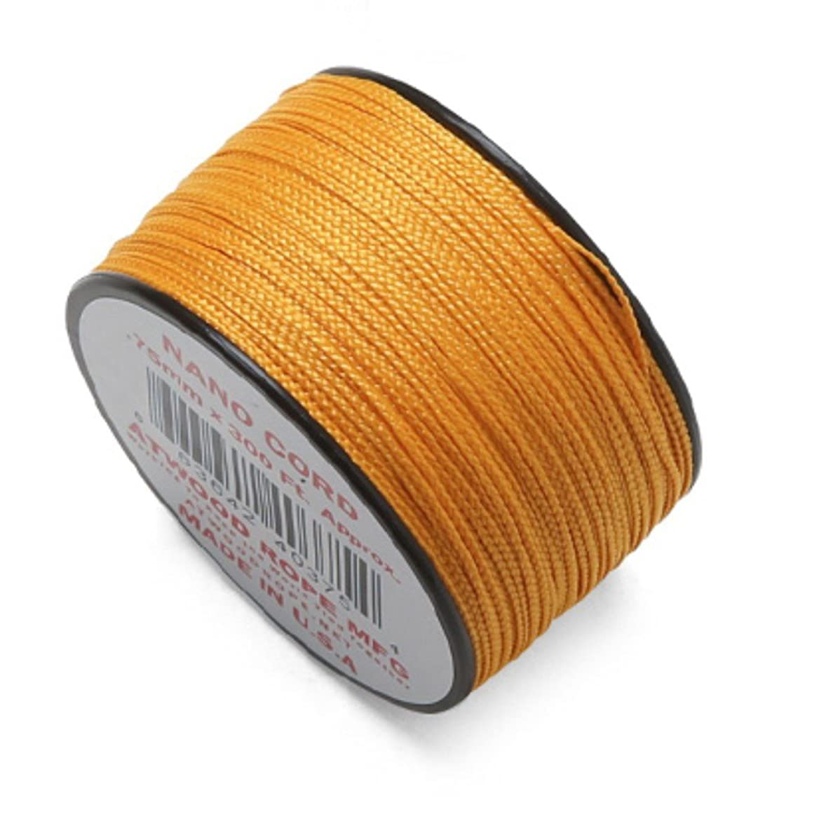 セント付録社会ATWOOD ROPE MFG. アトウッド?ロープ 0.75mm × 300フィート NANOコード MADE IN USA