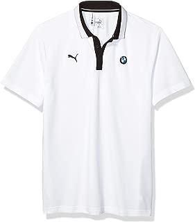 Motorsport Men's BMW Logo Polo, Large, White