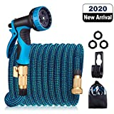 Best Garden Hose 50 Fts - HULOSAN Expandable Garden Hose, Water Hose with 9 Review