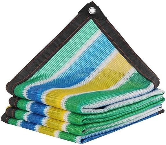 QNJM Tissu D'ombre De Prougeection UV, écran De Confidentialité pour Balcon, Tissu D'ombre Robuste Et Durable pour Jardin, Patio Et Porche (Couleur   A, Taille   3x5m)