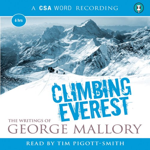 Climbing Everest audiobook cover art