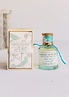 Library of Flowers Eau de Parfum   A Beautiful Artisinal Perfume   Crafted Featuring Unique Blends of Essences From Our Pe...