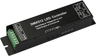 JOYLIT 4 Canales 4x4A 192W Pantalla Digital DMX512 LED Decodificador Controlador Para Tiras LED RGBW