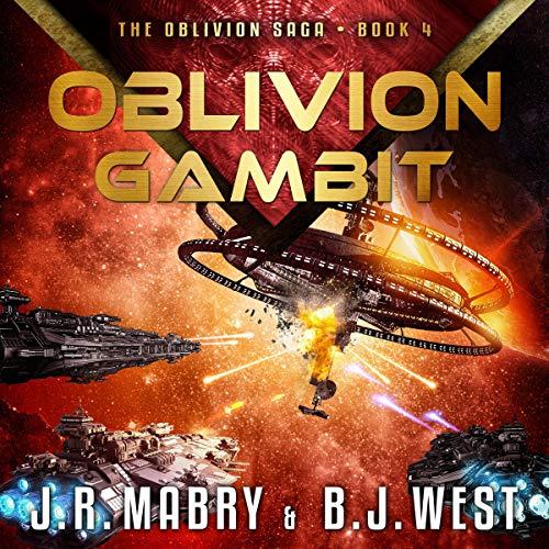 Oblivion Gambit audiobook cover art