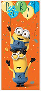 Plastic Despicable Me Minions Door Poster