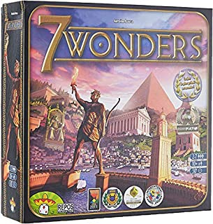 7 Wonders - Asmodee - Jeu de société - Jeu de stratégie (B0049BXZKS) | Amazon price tracker / tracking, Amazon price history charts, Amazon price watches, Amazon price drop alerts