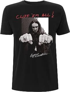 metallica cliff burton shirt