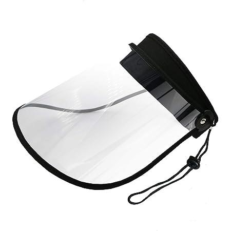 レインバイザー Figfly UVカット 90% レインクリアバイザー アイメディア 透明 おしゃれ 雨具 自転車 つば広