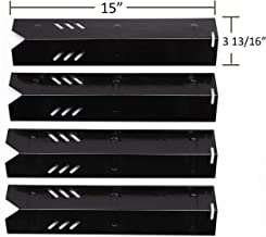 PH1591 (4-pack) Porcelain Steel Heat Plate for Backyard Grill BY12-084-029-98, Backyard GBC1255W, Uniflame GBC1059WB, Uniflame GBC1059WE-C, Uniflame GBC1069WB-C and Others