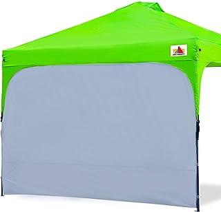 ABCCANOPY 遮阳棚侧壁即时遮阳篷太阳墙 10 X 10 弹出式帐篷 直筒 10 X 20 帐篷 1 件装,灰色
