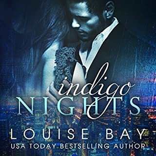 Indigo Nights audiobook cover art
