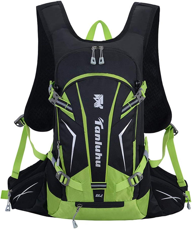 HVBYHF 25L Outdoor Radfahren Rucksack, Bergsteigenbeutel Fahrradrucksack Wasserdichte Atmungsaktive Tasche