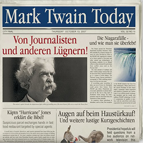 Mark Twain Today cover art