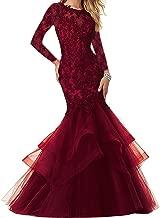 Bonnie_Shop Bonnie Lace Prom Dress Mermaid Prom Party Ball Gowns Bs014