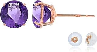 Best rose gold amethyst earrings Reviews