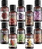 Set di 10 Olio Profumati© Essenziali per Aromaterapia in Co