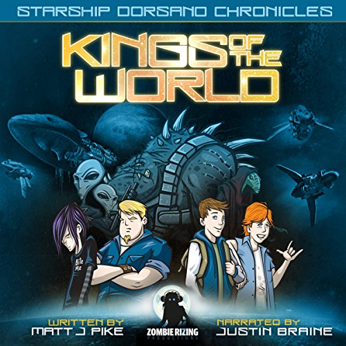 Kings of the World audiobook cover art