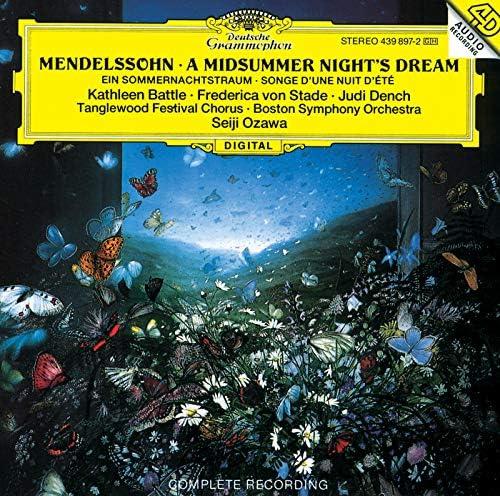 Kathleen Battle, Frederica von Stade, Judi Dench, Boston Symphony Orchestra, Seiji Ozawa, Tanglewood Festival Chorus & John Oliver