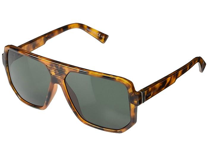 VonZipper  Roller (Vintage Tortoise Satin Vintage Grey) Fashion Sunglasses