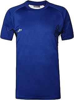 ZITY Men Short Sleeve Sport T-Shirt Slim Comfort Gymwear Athletic Tee Cool Shirts