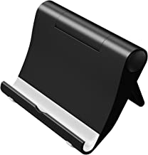 Gizga Essentials Multi Angle Portable Stand for All Smartphones,Tab & Kindle (Black)