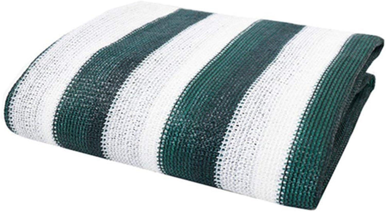 XJLG-Schattierungsnetz Gewächshaus-Sonnencreme, 60% Schatten, grüne grüne grüne und weiße Streifen Schattierungsnetz B07QKDP2LT  Primäre Qualität cbf3f2