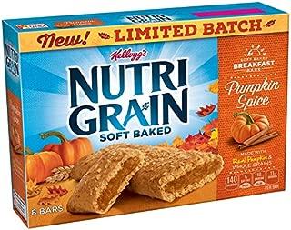 Kellogg's Nutri-Grain Kellogg's Soft Baked Cereal Bars (Pumpkin Spice, 10.4 oz)