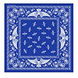 Bikers Bandanas Collection Original Design, 21' x 21' - BANDANA PAISLEY EAGLE
