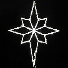 lighted window star