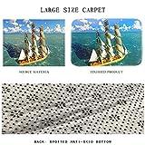 ZHOUAICHENG 3D Teppich Stein gedruckt weichen Flanell großen Teppich für Zimmer Matten im Flur rutschfeste Küche Matte große Teppiche,B,100x150cm - 2