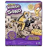 Kinetic Sand, Set Cantiere con Veicolo da Lavoro, 454Gr di Sabbia, dai 3 Anni - 6044178