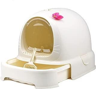 Indoor Cat Sandbox Kitten Litter Box Closed Tray Toilet Bedding Training 6 Colors Detachable Bedpan Small Medium Pet Accessories