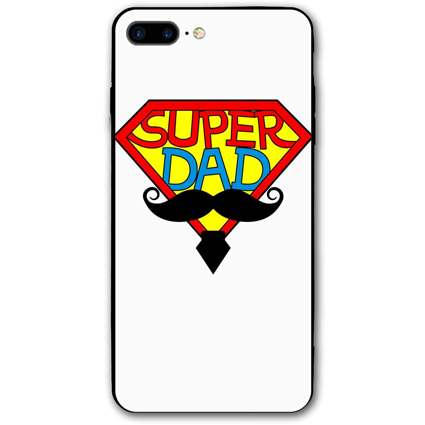 Xyybbn Super Dad Have Big Beard Good Shock Absorbent iPhone Cover Mobile Case for iPhone 7Plus/8Plus