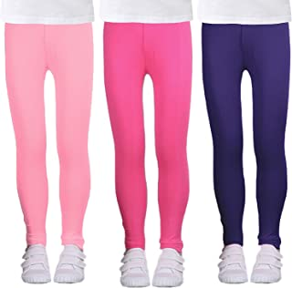 5 6 Size 3 New Girls Official Licence Disney Frozen Dark Pink Stretchy Leggings 4 7 /& 8 years